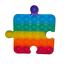 miniature 22 - Push it Pop up Bubbles Fidget Blasen Drücken Spielzeug Toy Antistress Regenbogen
