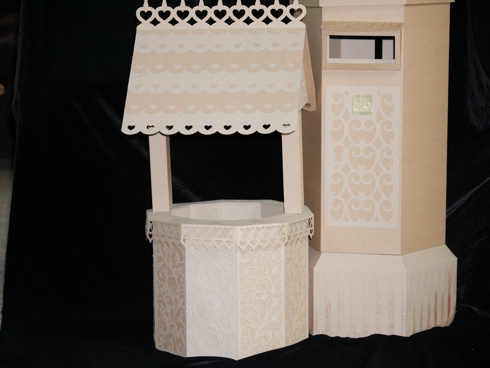 Special Occasion Handmade Well Wishes Pillar Post Box or Wishing Well