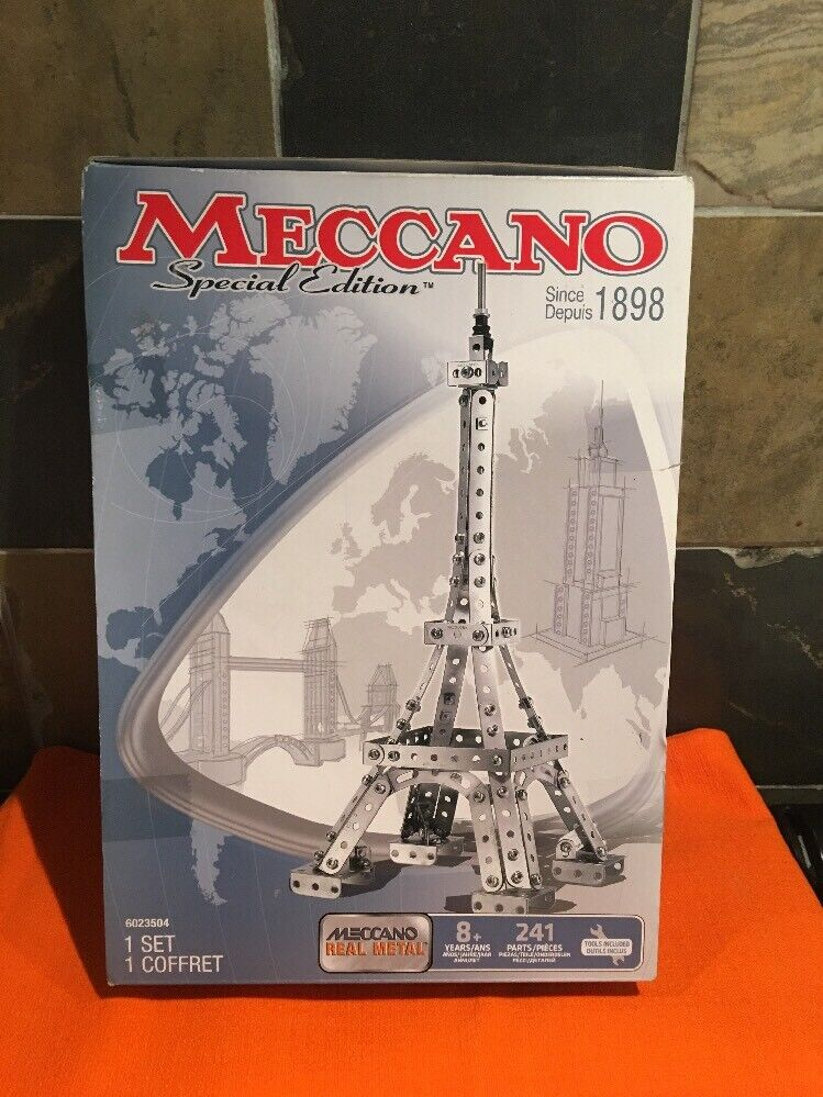 Mecca Special Edition Eiffel Tower 241 Pieces Real Metal