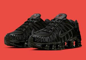 Details about Nike Shox TL Speed Triple Black Metallic Hematite Running  Shoes Blackout Mens