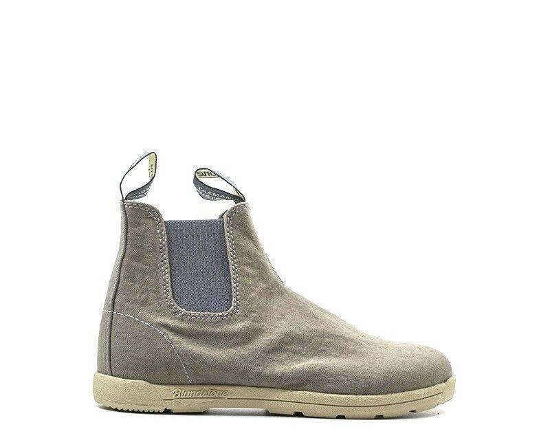 zapatos azulNDSTONE mujer Tronchetti Bassi   Bassi gris Tessuto BCCAL0379-1406S 72106d