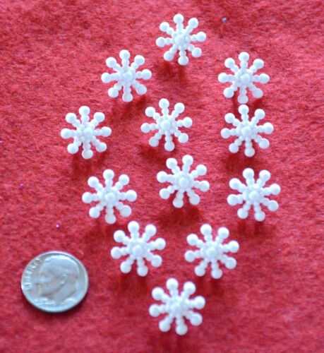 Dress It Up Pick from 13 Varieties of Sew-Thru or Shank Snowflake Buttons