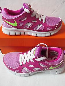purchase cheap 6bf5c 2bd99 Nike Free Run 2 (Gs) Basket Course 477701 503 Baskets | eBay