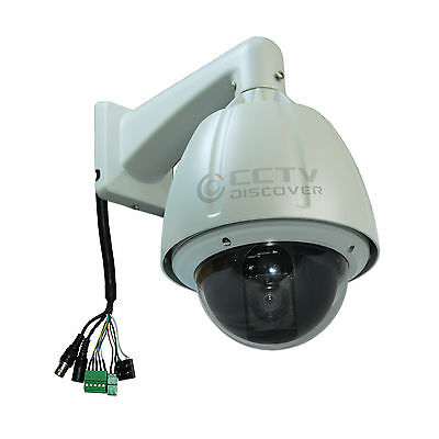 15% Discount On Sale !!560x Hi-Speed Outdoor D/N PTZ Dome Camera Sony CCD PAL