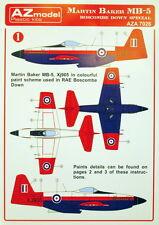 "AZ Models A7026 Decals 1/72 Martin-Baker MB.5 Prototype ""Boscombe Down"""