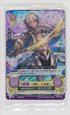 Fire Emblem 0 Cipher TCG  Kamui male Corrin PRr Eliwood P06-001PR P02-009 JP