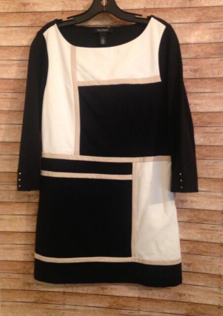 white house black market shirt dress size L