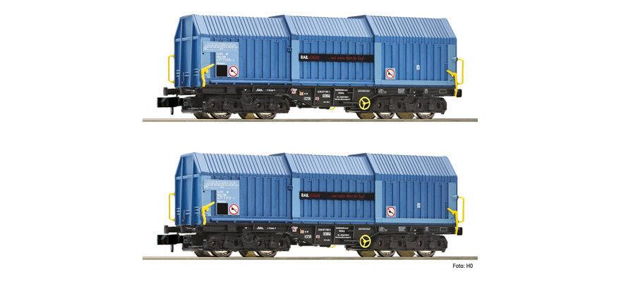 Fleischmann 837926 2 pezzi set telescopico cappe auto tipo shimns, raillogix, NUOVO