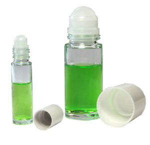roll on flasche deoroller leer 10ml 50 ml glas neu ebay. Black Bedroom Furniture Sets. Home Design Ideas