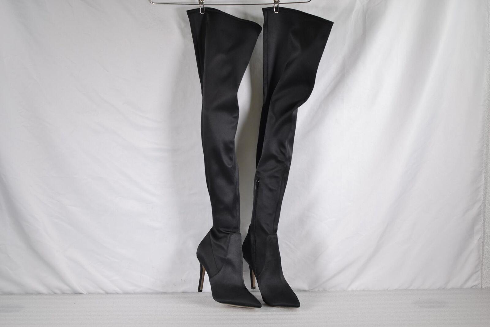 Aldo Sailors Engineer Thigh High Boots
