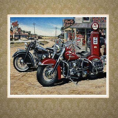 Motorcycle 5D DIY Diamond Painting