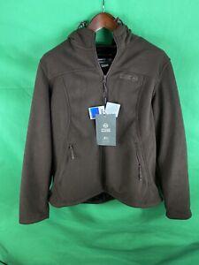 Outdoor-Master-Women-s-Brown-Fleece-Jacket-Size-2XL-XXL-Nwt