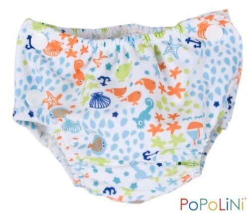 Costume pannolino neonato da acqua mare piscina bagno Popolini L Oceano