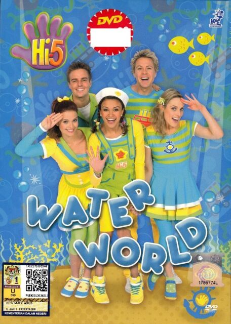 DVD Hi-5 :WATER WORLD_SEASON 13 *5 EPISODES COMPLETE* Original Australia Series