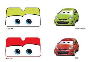 Hot Disney Pixar Cars Lightning McQueen Front Car Windshield Sun ... f72d990b02e