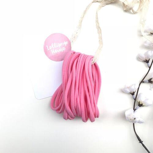 Wholesale Nylon Headbands bulk Elastic One Size Fits Baby Adult Thin 10 Pieces