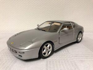 BBURAGO-1-18-FERRARI-456-GT-modello-di-auto-REGALO-MODELCAR-scale-model-auto-sportiva
