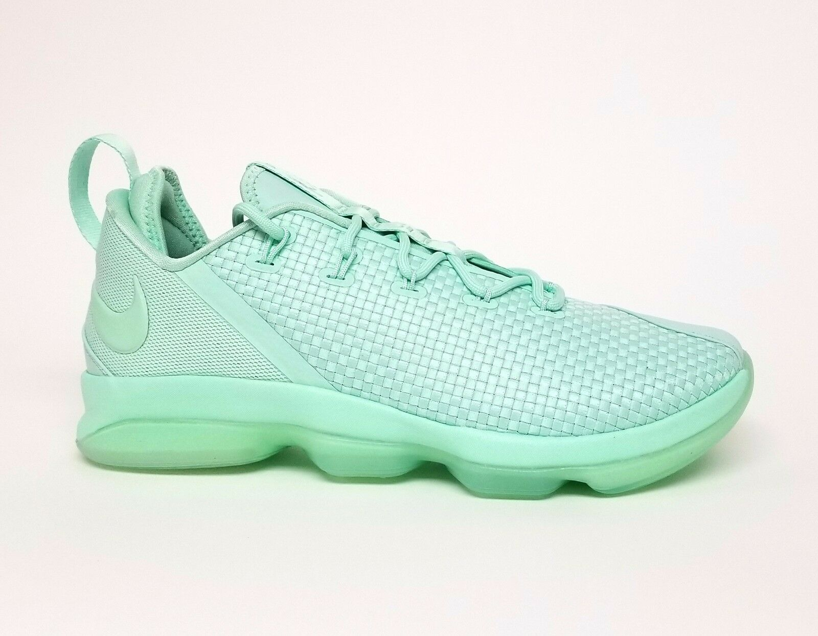 95cc837dbf6 Nike Men s LEBRON XIV LOW Basketball Shoes MINT FOAM 878636-300 878636-300  878636