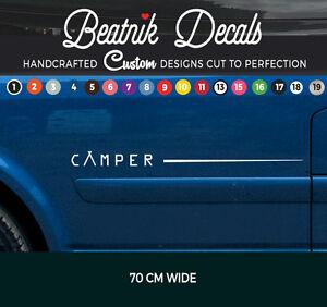 Camper-Van-Side-Stripe-Sticker-Decal-Graphic-VW-T4-T5-T6-Bongo-All-Vans-Vinyl