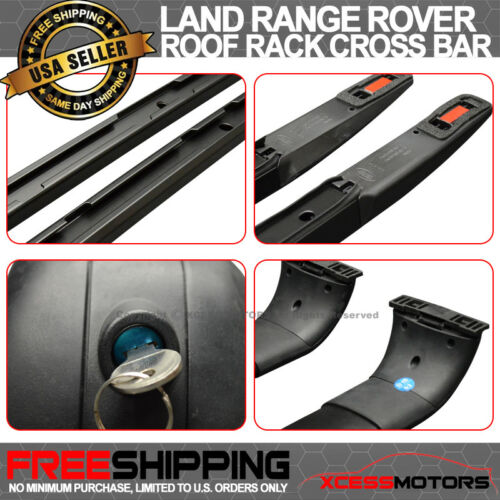 Fit 06-13 Range Rover Sport OE Aluminum Running  Board Side Step Bar Roof Rack