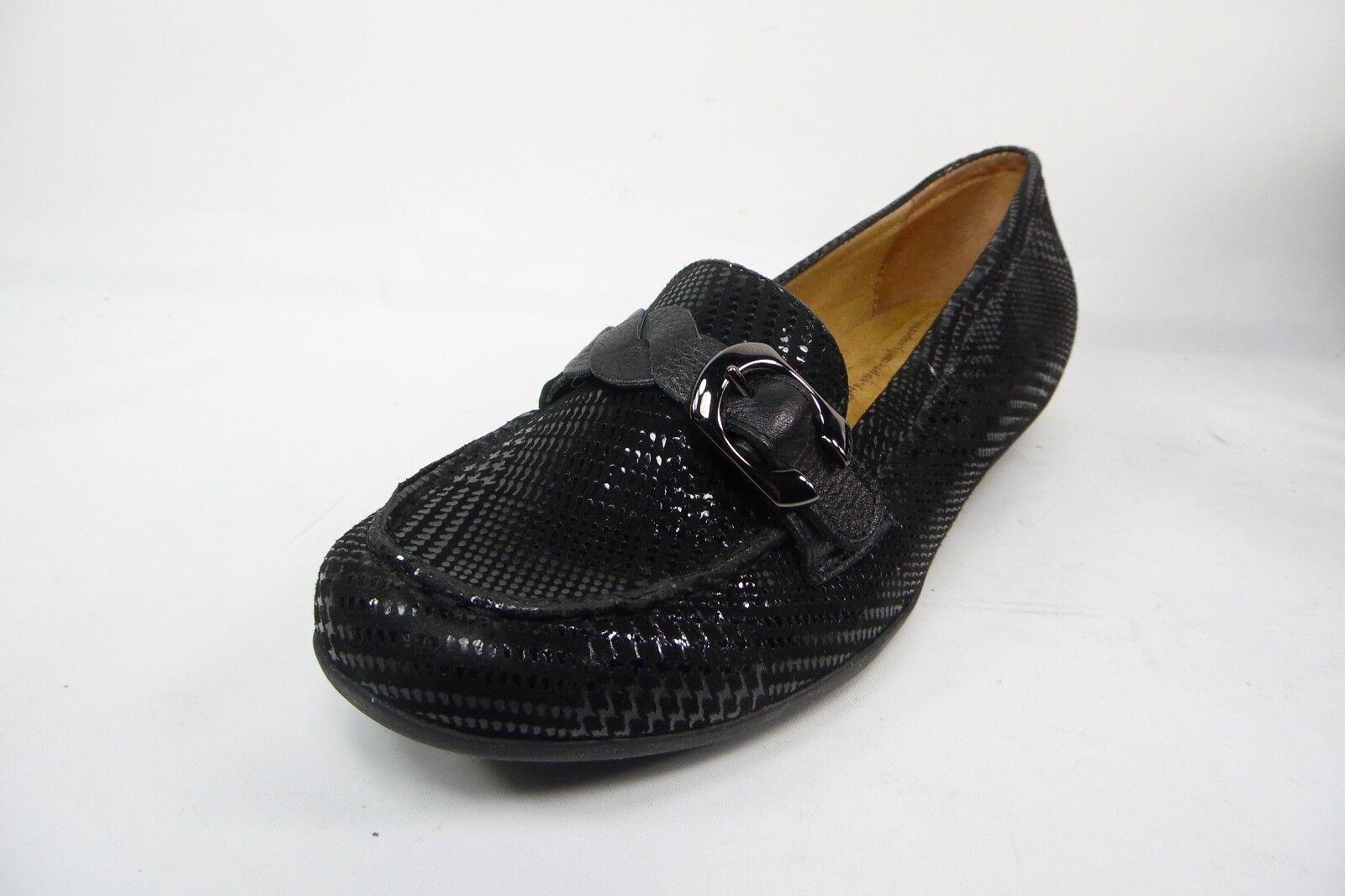 per poco costoso Softspots donna Peron nero Suede Slip Slip Slip On scarpe Dimensione 9.5W  merce di alta qualità e servizio conveniente e onesto