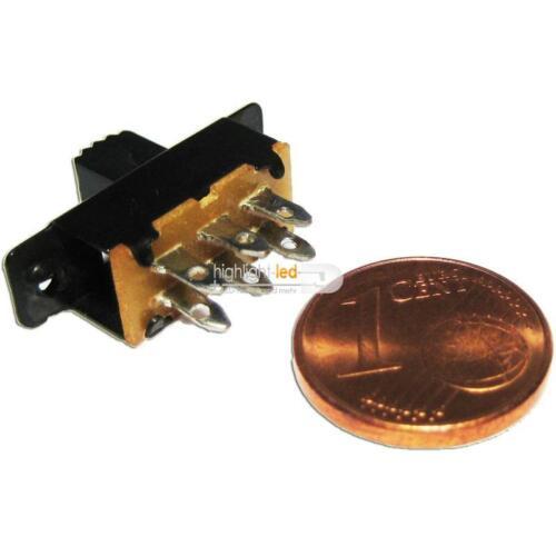 2 Rue Miniature Interrupteur à Glissière Super Petit à Switch