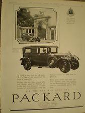 Packard Motor car advert 1928 ref Y2