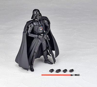 Star Wars Darth Vader Action Figure Kaiyodo Revoltech SCI-FI 001 New No Box