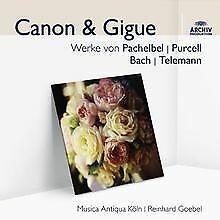 Canon & Gigue (Audior) von Reinhard Goebel   CD   Zustand gut