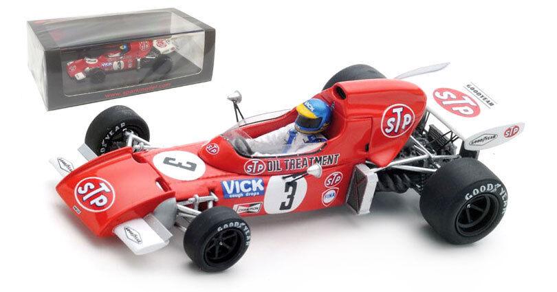 Spark S5365 721 de marzo 'STP' 5th de Sudáfrica GP 1972-Ronnie Peterson 1 43