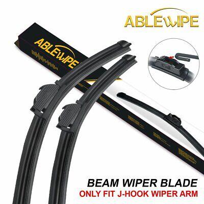 "ABLEWIPE 22/""+21/"" Fit For HONDA PILOT 2009-2015 Beam Windshield Wiper Blades J//U"