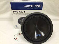 Alpine SWS-12D2 1-Way 12in. Car Subwoofer
