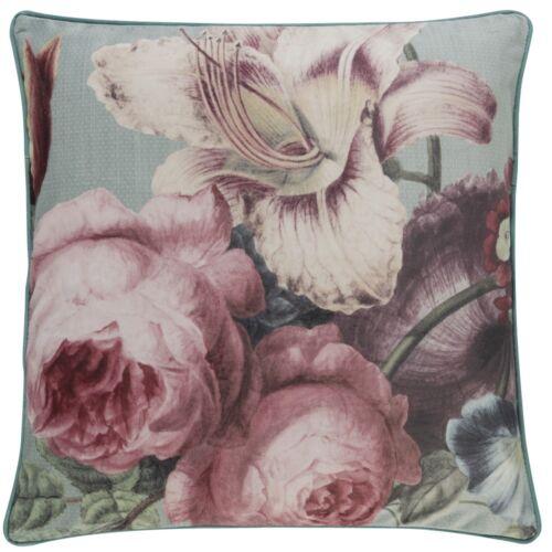Coussin Housse Barbara belle Berger Taie d/'oreiller fleurs rose 50x50cm