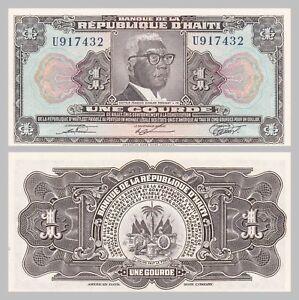 Amerika Responsible Haiti 1 Gourde 1979 P230 Unz.