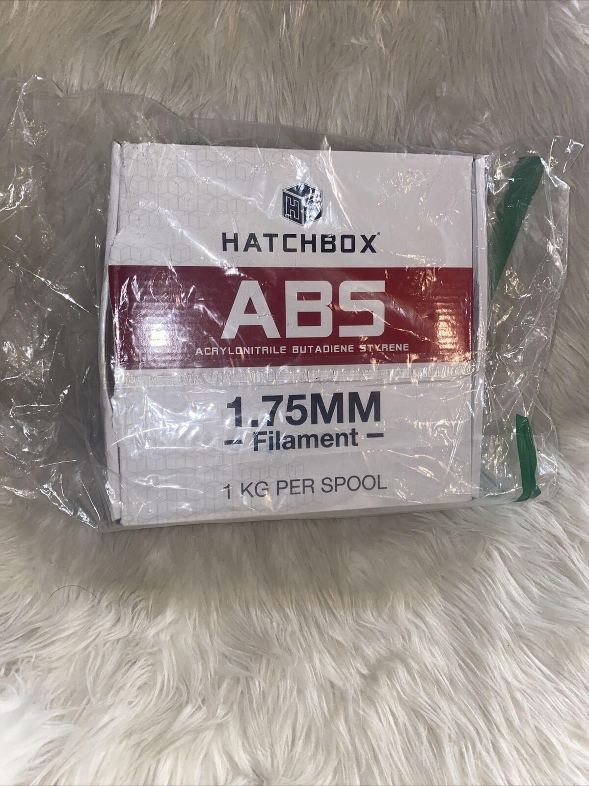 HATCHBOX ABS 3D Printer Filament 1.75 mm - 1Kg Spool, Blue 318 C