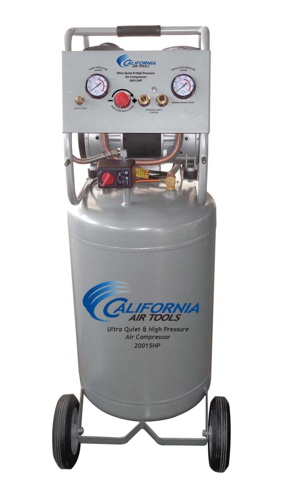 California Air Tools 20015HP Ultra Quiet  High Pressure Air Compressor