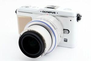 OLYMPUS PEN E-P1 12.3MP 14-42mm Lens Kit White [Exc w/8GB SD,Strap [531]