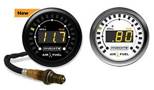 Innovate-3918-MTX-L-PLUS-Wideband-O2-AFR-Air-Fuel-Ratio-Gauge-Kit-amp-Bosch-LSU4-9
