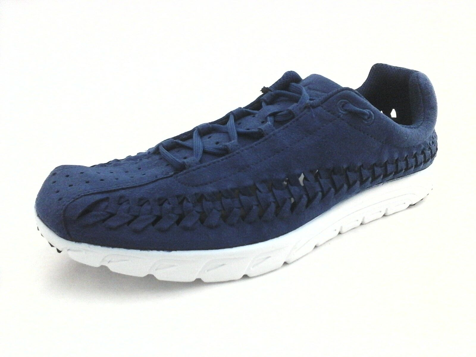 NIKE shoes Mayfly Woven bluee Suede 833132-400 Sneakers Men's US 9.5 EU 43 New