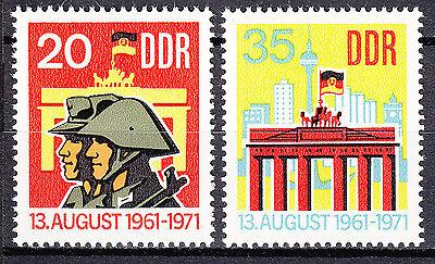 Nr 1691-1692 Postfrisch ** Mnh äRger LöSchen Und Durst LöSchen Radient Ddr 1971 Mi