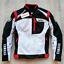 Men-039-s-Classic-Speed-Block-Jacket-Motorcycle-Sportbike-Bike-Black-FOR-Yamaha thumbnail 1