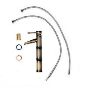 Robinet-Mitigeur-Tete-d-039-injection-Design-de-bambou-Poignee-simple-En-couleur-WT