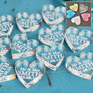 Personalised-Wedding-Mr-amp-Mrs-Love-Hearts-Favours-Table-Decoration-Confetti-Gift