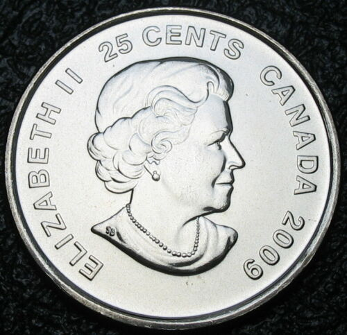Uncirculated Women/'s Ice Hockey Non-colorized RCM 2009-25-cents