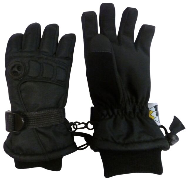 NIce Caps Womens Cold Weather Thinsulate Waterproof Winter Ski Gloves