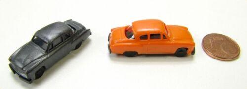 naranja TT 1:120 nuevo Wartburg 311//3 Coupe 2 STK rda//bloque del este-colores negro