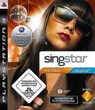 Playstation 3 Singstar POP EDITION * TopZustand