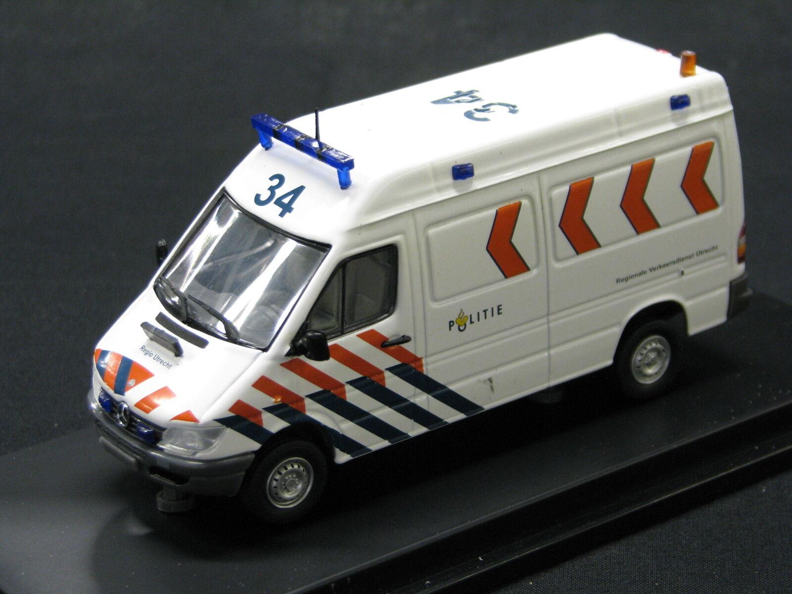 Eligor Mercedes-Benz Sprinter 1:43 Politie Regionale Verkeersdienst Utrecht  JS
