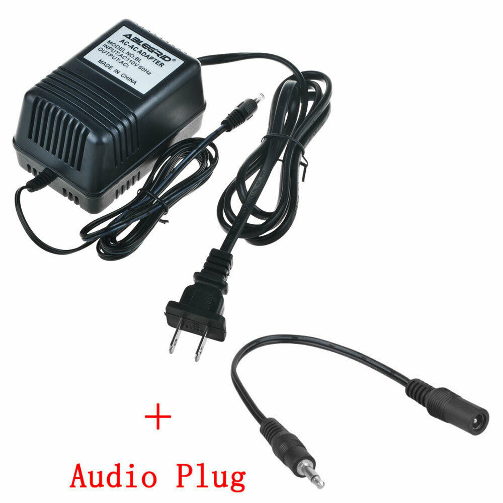 9V AC-AC Adapter Charger For Alesis SR16 HR16 Power Supply PSU Cord Mains
