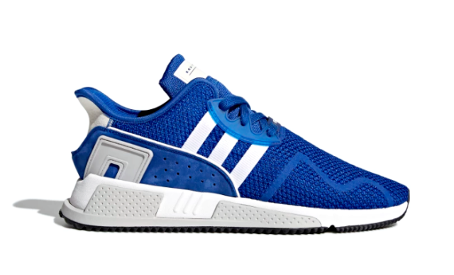 newest collection 5682b dd375 ADIDAS CQ2380 EQT CUSHION ADV Mns (M) RoyalWhiteWhite Knit Athletic